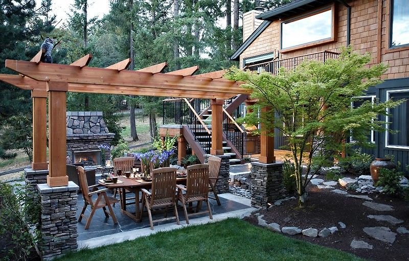 ~ Family Backyard Landscaping Ideas