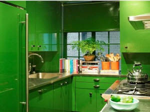 Painting-Ideas-for-Living-Room-With-Green-Cabonet