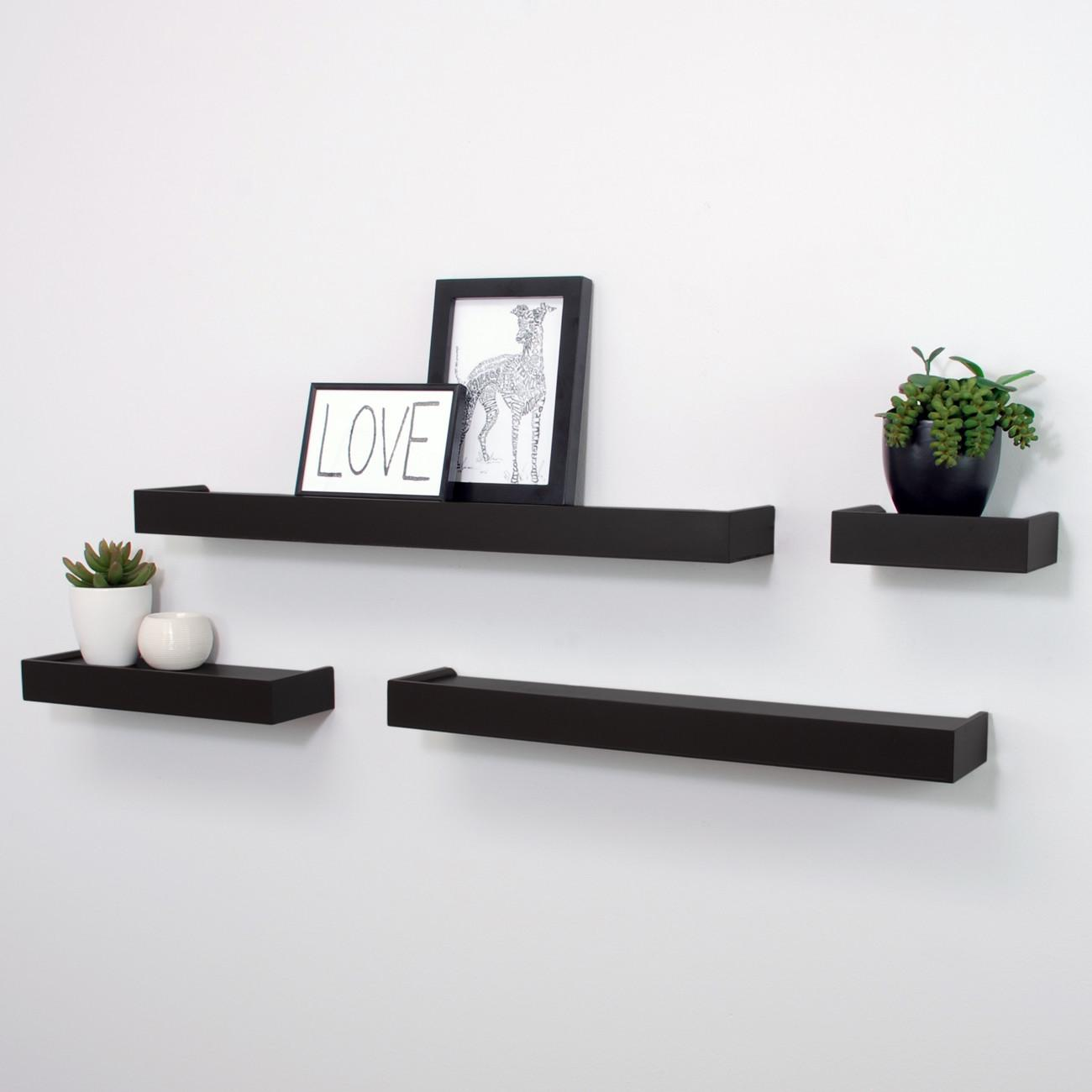 beautiful and trendy floating wall shelves for your house interior ...