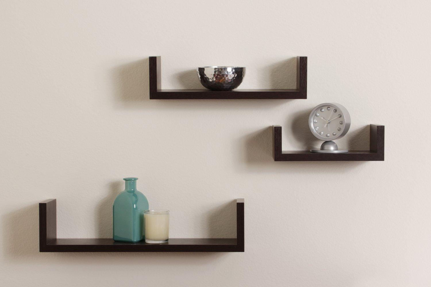 Decorative Floating Shelves 7 Beautiful And Trendy Floating Wall Shelves For Your House