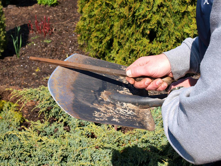 Captivating Caring For Garden Tools  Tips To Clean And Sharpen Garden Tools Home Design Ideas
