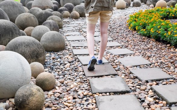 Different Types of Garden Rocks & their use