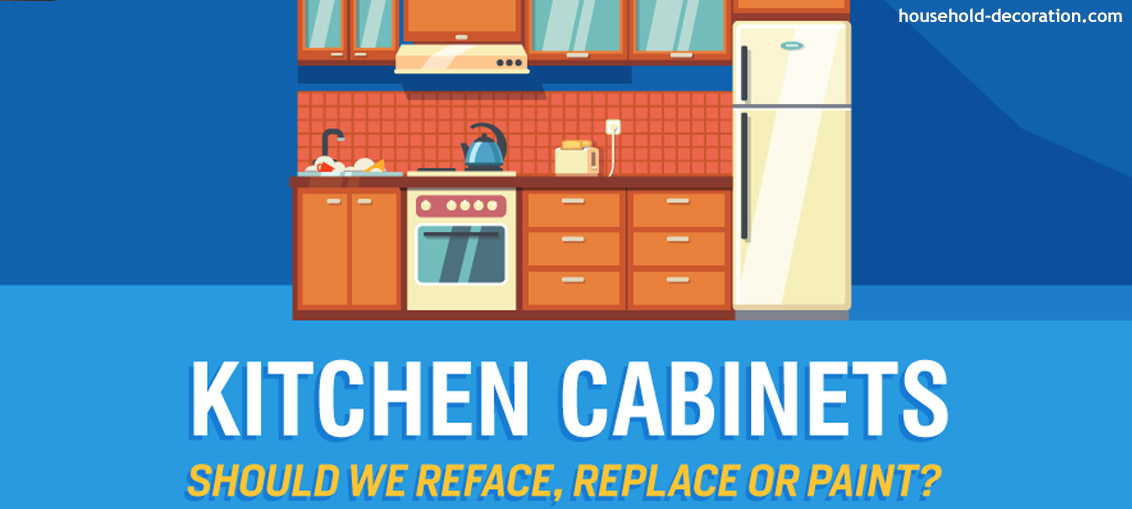 Kitchen Cabinets Should We Reface Replace Or Paint Household
