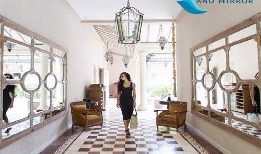 Antique Wall Mirror in Modern Interior Design